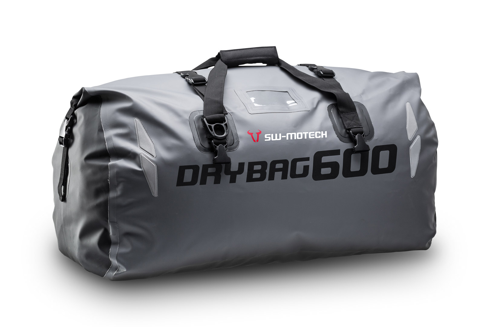 Bags-Connection Drybag 600, harmaa/musta