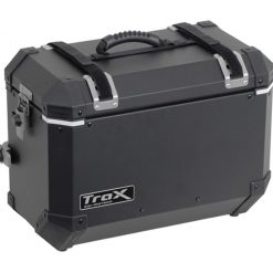 SW-Motech TraX-kantohihna Alubox 45/37L  musta