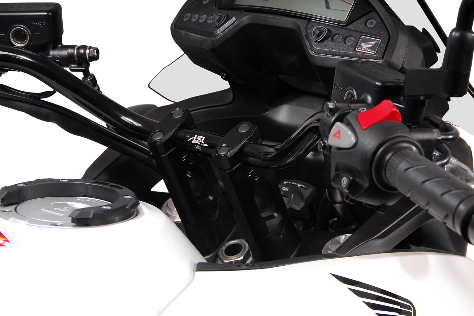 Tangonkoroke ja LSL-ohjaustanko, VFR800X Crossrunner