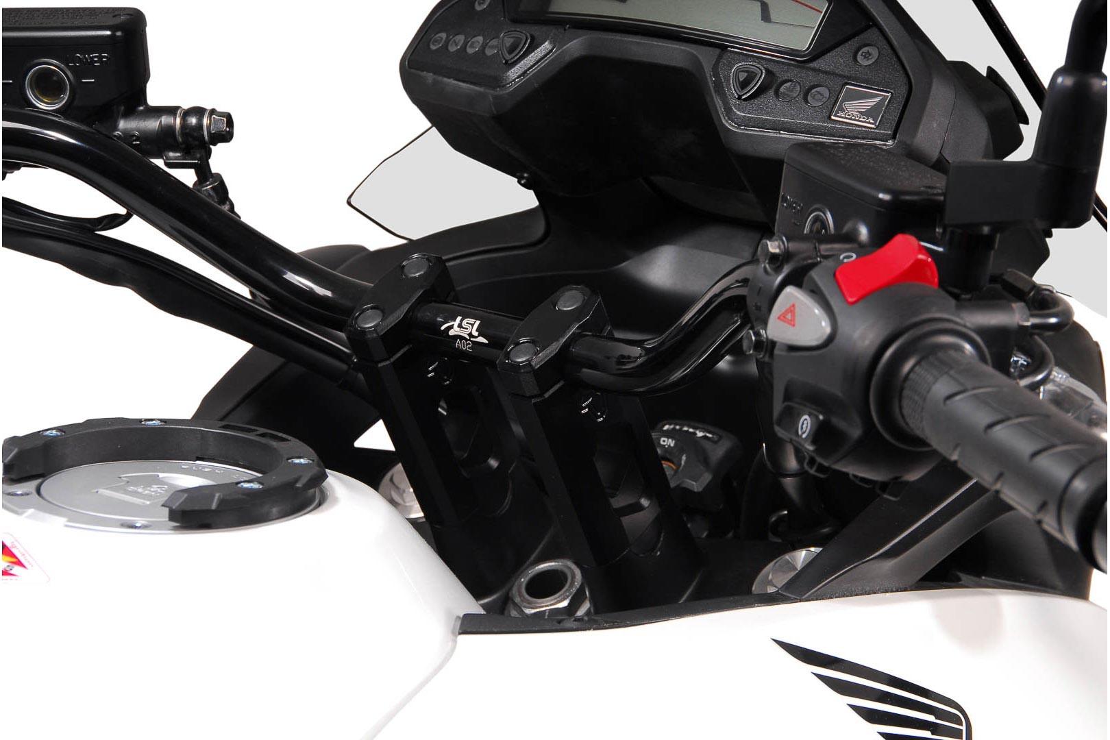 Tangonkoroke ja LSL-ohjaustanko, hopea, VFR800X Crossrunner