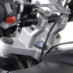 SW-Motech Tangonkoroke 22mm tanko, kork. 25mm BMW R1200GS 07- hopea