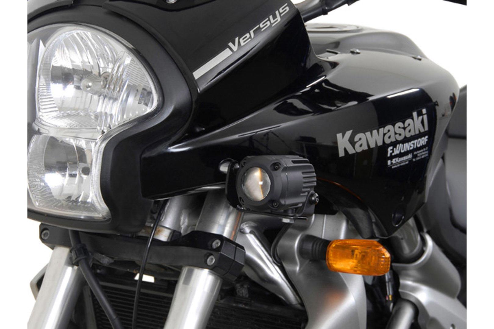 SW-Motech HAWK-lisävalosarjan kiinnike, Kawasaki Versys 07-09