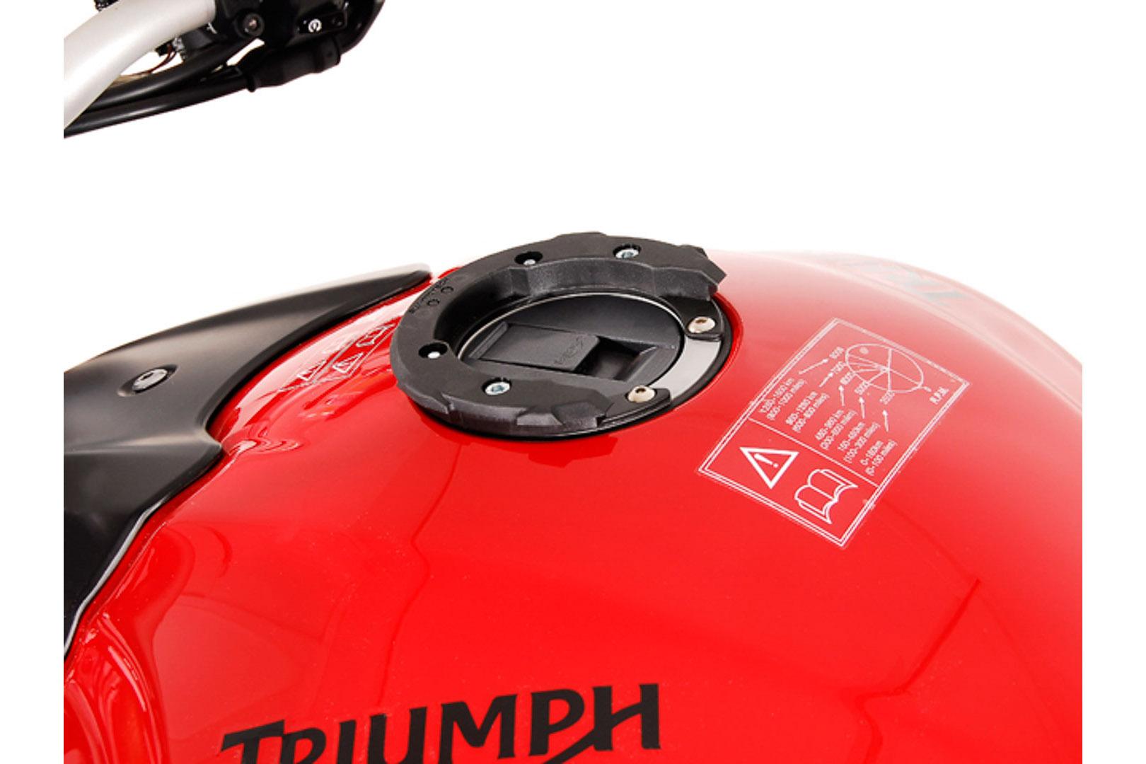 Quick-Lock EVO tankkilaukun kiinnike, Triumph 6 ruuvia